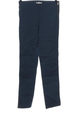 H&M High-Waist Hose blau Streifenmuster Casual-Look
