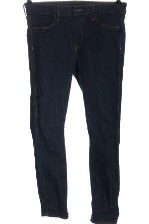 H&M Vaquero de talle alto azul look casual