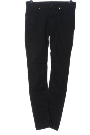 H&M Jeans a vita alta nero stile casual