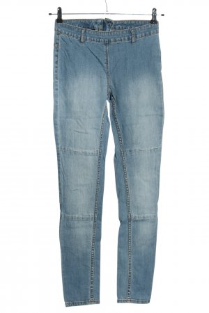 H&M Jeansy z wysokim stanem niebieski W stylu casual