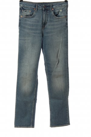 H&M High Waist Jeans blau Casual-Look