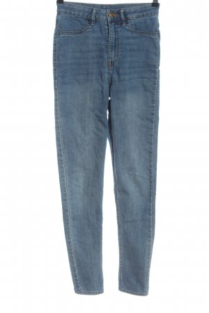 H&M Jeans a vita alta blu stile casual