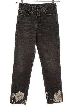 H&M High Waist Jeans meliert Casual-Look