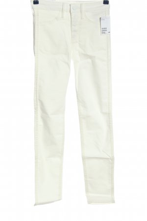 H&M High Waist Jeans white casual look
