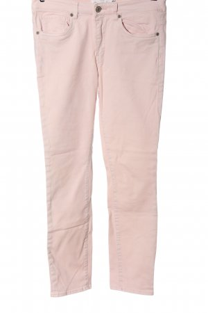 H&M High Waist Jeans creme Casual-Look