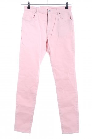 H&M High Waist Jeans pink Casual-Look