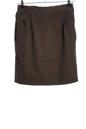 H&M High Waist Rock braun Casual-Look