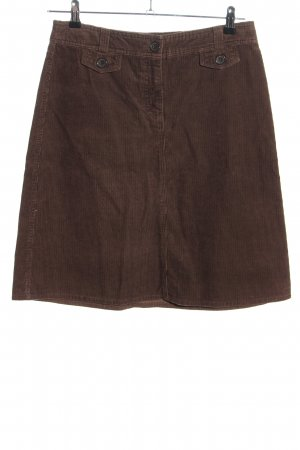H&M High Waist Rock braun Casual-Look