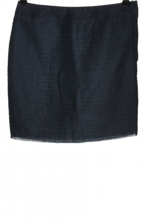 H&M High Waist Rock blau Casual-Look
