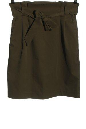 H&M High Waist Rock khaki Elegant