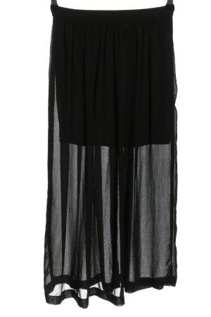 H&M Rok met hoge taille zwart elegant