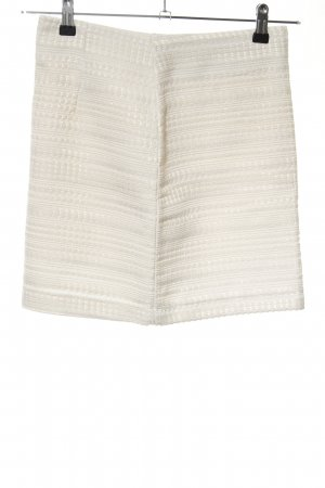 H&M High Waist Skirt white business style
