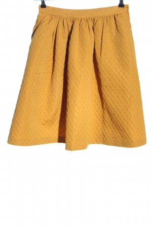 H&M High Waist Rock hellorange Casual-Look