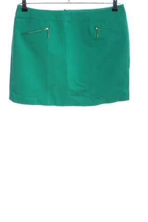 H&M High Waist Rock grün Elegant
