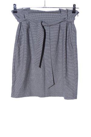 H&M Gonna a vita alta grigio chiaro-nero modello web elegante
