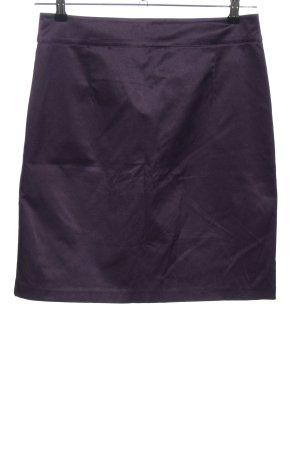 H&M High Waist Rock lila Business-Look