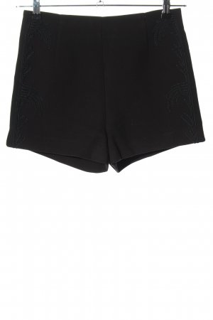 H&M Pantaloncino a vita alta nero stile casual