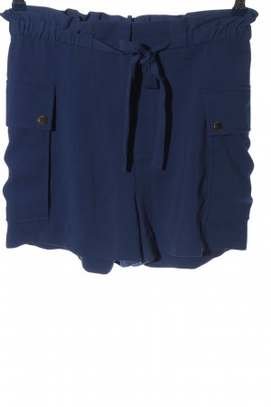 H&M High waist short blauw casual uitstraling