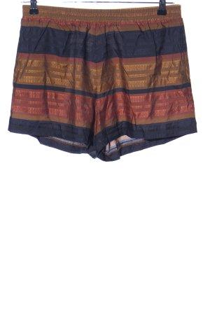 H&M High-Waist-Shorts Streifenmuster Casual-Look