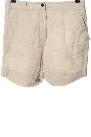 H&M High-Waist-Shorts wollweiß meliert Casual-Look