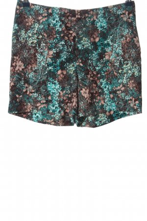 H&M High-Waist-Shorts abstraktes Muster Elegant