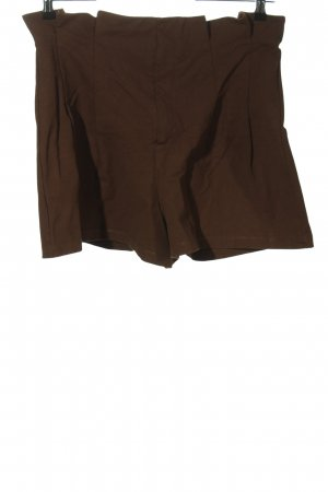 H&M High-Waist-Shorts brown casual look