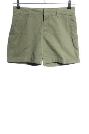 H&M High-Waist-Shorts khaki Casual-Look