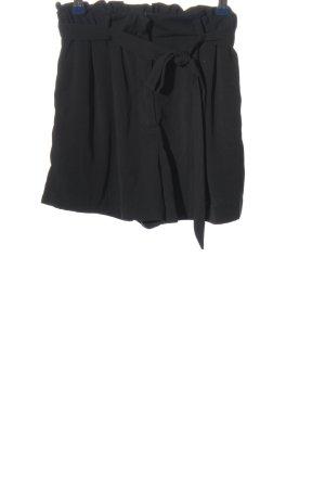 H&M High-Waist-Shorts schwarz Casual-Look