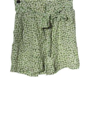 H&M High-Waist-Shorts Allover-Druck Casual-Look