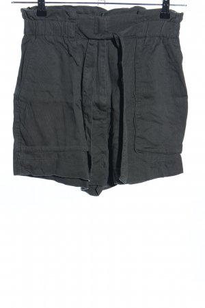 H&M Short taille haute noir style décontracté
