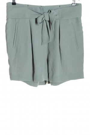 H&M High-Waist-Shorts hellgrau Casual-Look