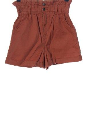 H&M High waist short bruin casual uitstraling