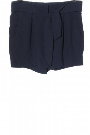 H&M High-Waist-Shorts blue classic style