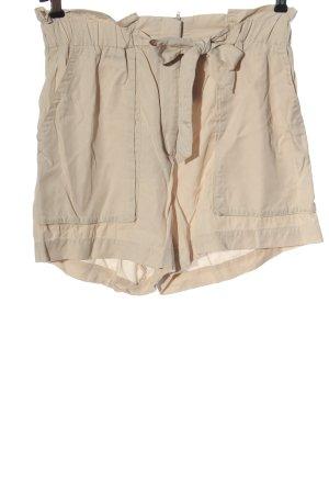 H&M High-Waist-Shorts creme Casual-Look