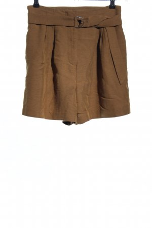 H&M High-Waist-Shorts brown casual look