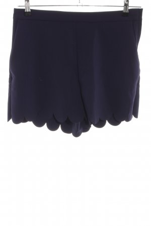 H&M High-Waist-Shorts blau Casual-Look