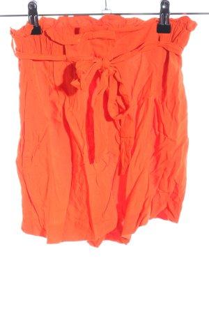 H&M Pantaloncino a vita alta arancione chiaro stile casual
