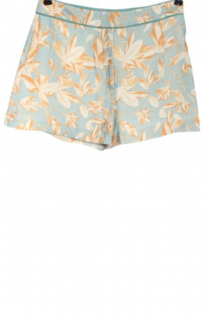 H&M High-Waist-Shorts Blumenmuster Casual-Look