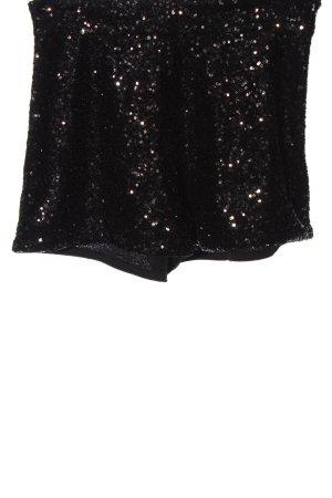 H&M High-Waist-Shorts schwarz Elegant