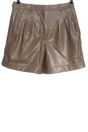 H&M Pantaloncino a vita alta marrone stile casual
