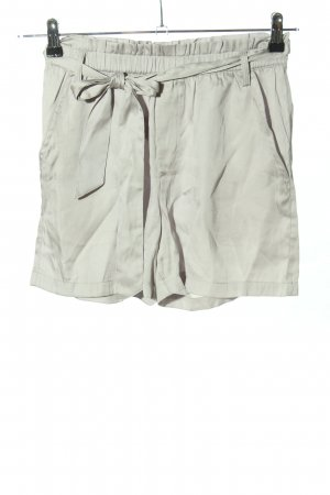 H&M High-Waist-Shorts weiß Casual-Look