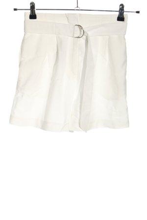 H&M High-Waist-Shorts white casual look