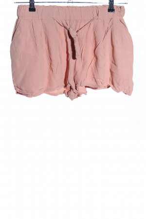 H&M High-Waist-Shorts nude Casual-Look