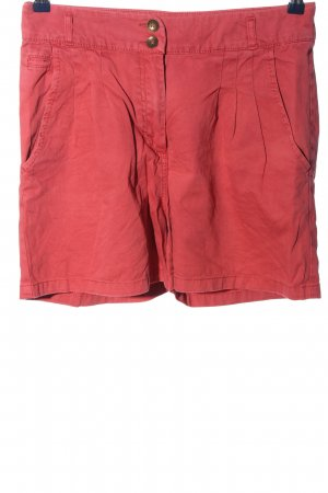 H&M High-Waist-Shorts rot Casual-Look