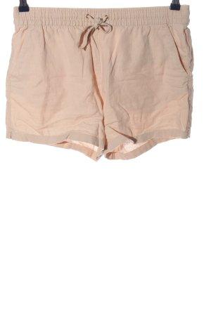 H&M Krótkie szorty nude W stylu casual