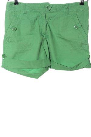 H&M High-Waist-Shorts grün Casual-Look