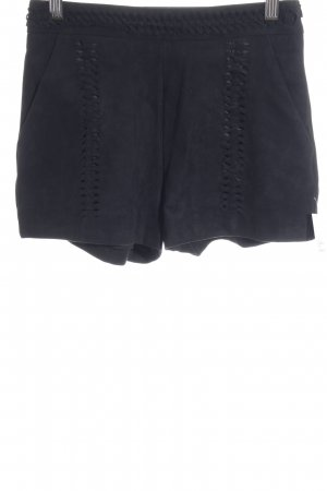 H&M High-Waist-Shorts schwarz Gypsy-Look