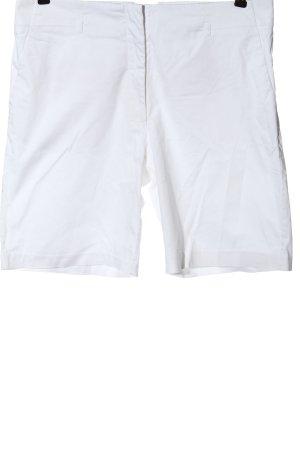 H&M High-Waist-Shorts weiß Casual-Look