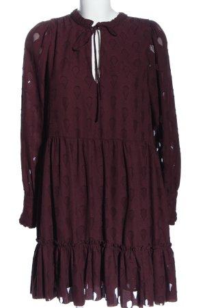 H&M Sukienka boho fiolet W stylu casual
