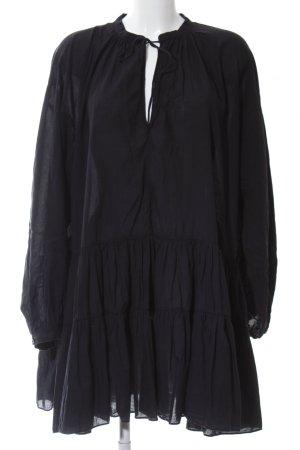 H&M Vestido Hippie negro look casual